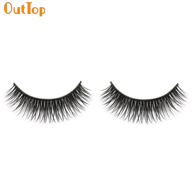 Outtop Love Beauty Female 1 Pair Natural Long Beauty Dense A Pair