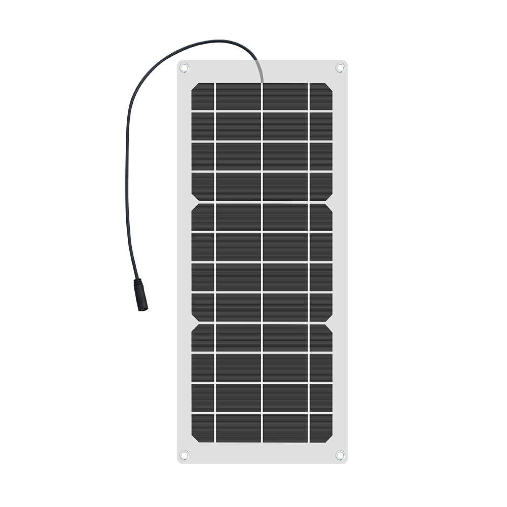 Boguang 6V 12V 10W Flexibele zonnepaneel cellen charger 5V 1.5A USB output Apparaten draagbare placa solar voor smartphones batterij