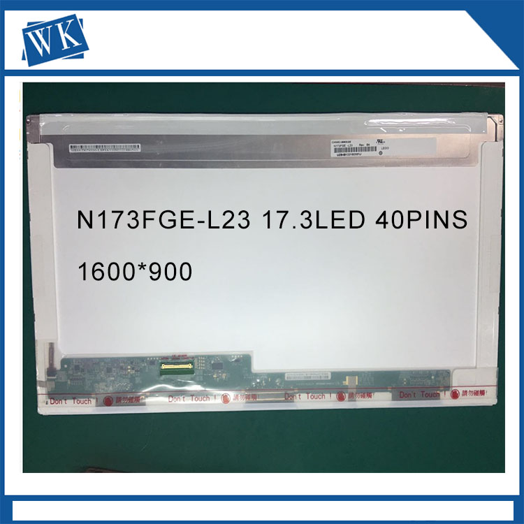 New brand 17.3 led screen B173RW01 LP173WD1 N17306-L02 LTN173KT01 LTN173KT02 LTN173KT03 N173FGE N173FGE-L11 laptop led screen