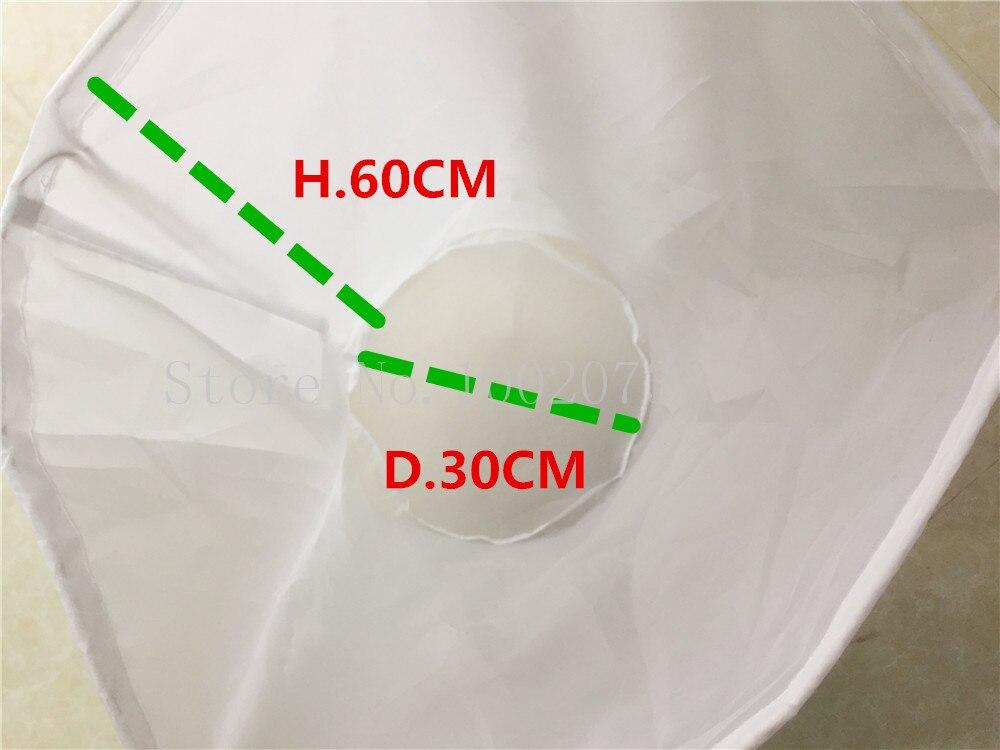 Large food grade Nylon filter bag home brew beer rice juice coffee soybean make