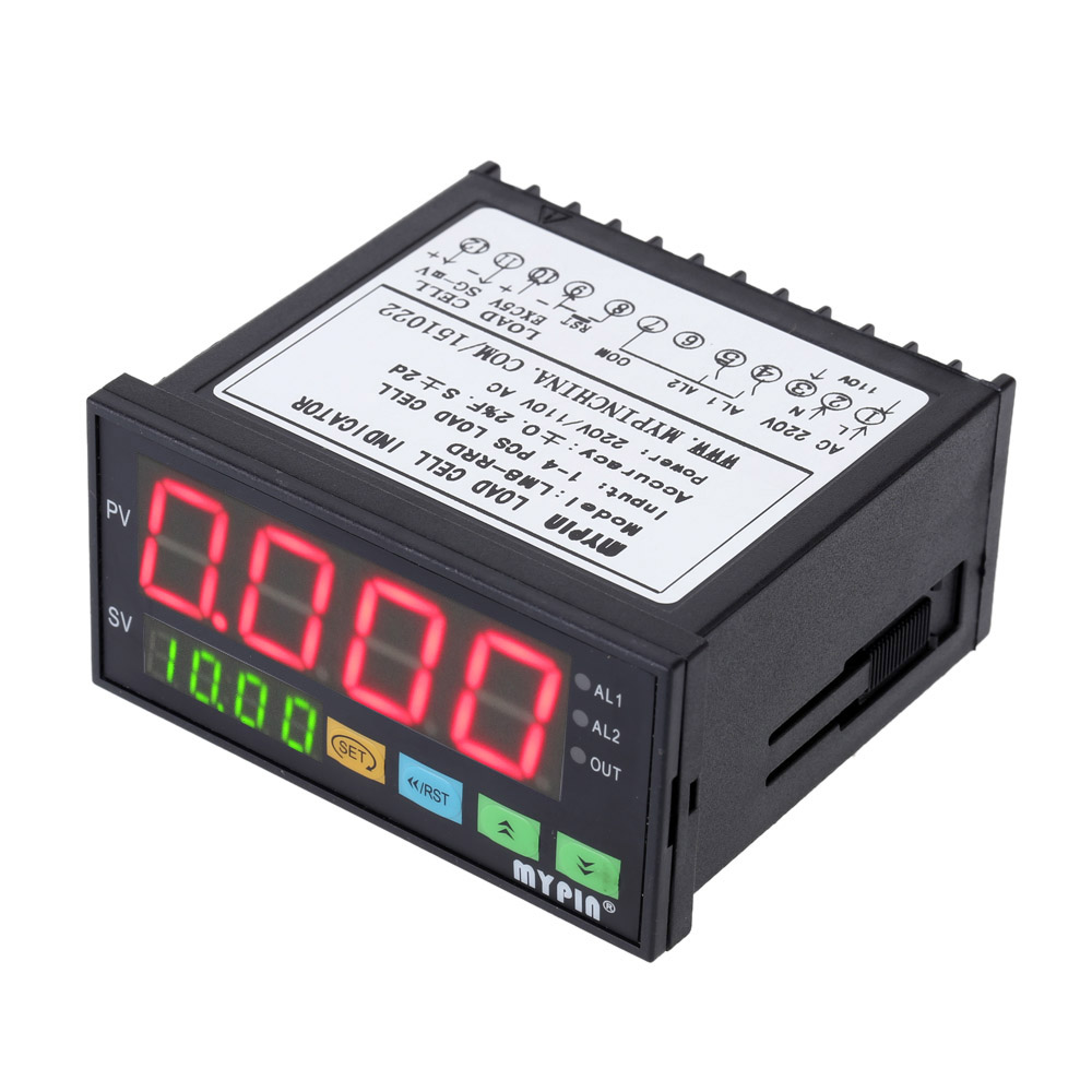 все цены на Digital Weighing Controller Load-cells Indicator 1-4 Load Cell Signals Input 2 Relay Output 4 Digits LED Display онлайн