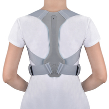 Silver Adjustable Back Posture Corrector Back Pain Relief Be
