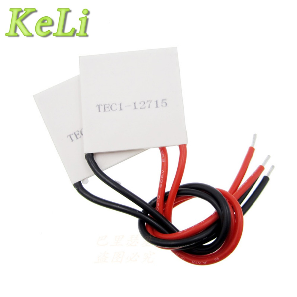 5pcs TEC1-12715 Thermoelectric Cooler Peltier 40*40*3.3mm TEC1 12715 industrial refrigeration piece tec1 12715 40 40 mm environmental protection science and technology innovation