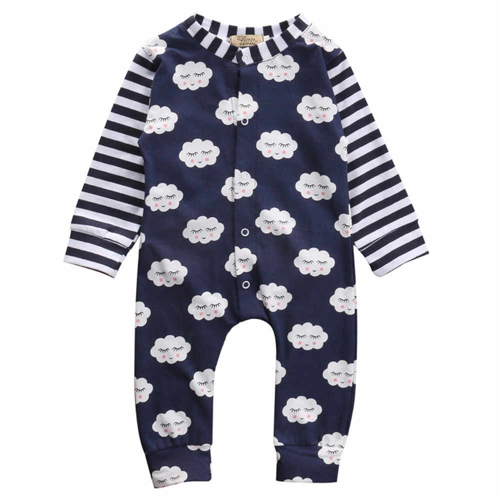 f05ad0119e Winter jumpsuit for boy girls Baby Clothing Rompers Overalls for newborns  children Shy Clouds Rompers Toddler