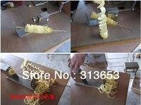 2 IN 1 Tornado potato machine, spiral potato chipper,potato cutter machine /potato chips machine( Slicers and cutters)