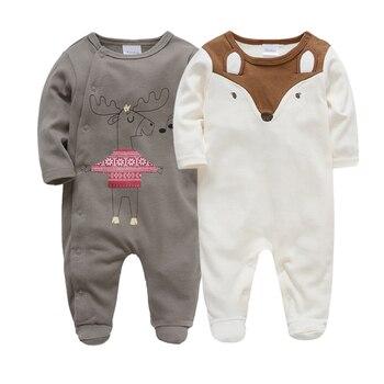 9f447de049234 2019 Yenidoğan Bebek Romper Bebek Giyim 0 3 6 9 12 ay bebes Tulum Bebek  Erkek Tulum Bebek roupa de bebes Pijama
