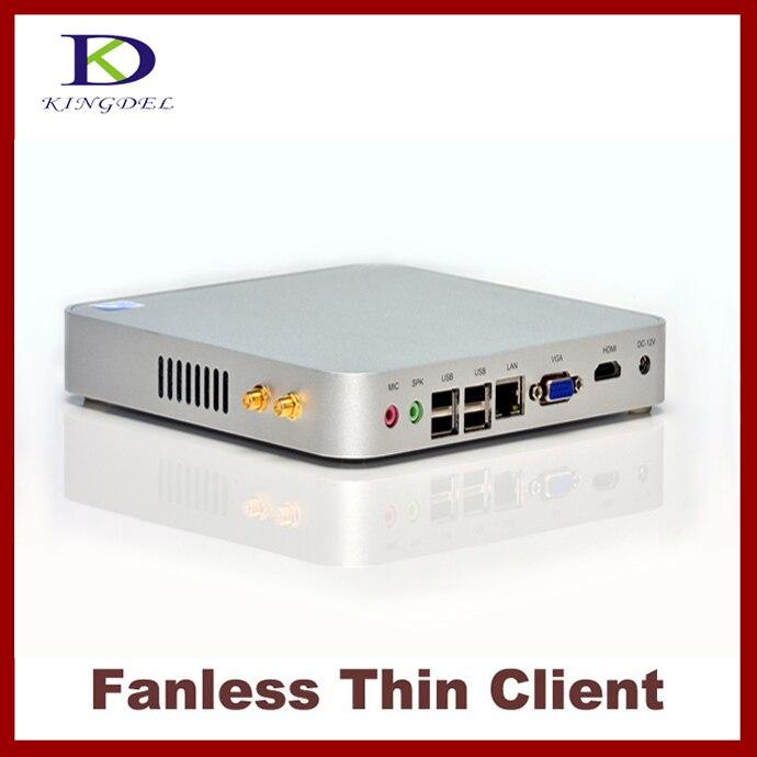Fanless 4GB RAM+320GB HDD Terminal Mini pc Thin Client PC, Mini Computer , Intel Celeron/Pentium 2117U, 1080P HDMI