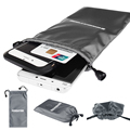 Big Universal Tarpaulin Protective Mobile Phone Bag Waterproof Pouch for Power Bank Smartphone Storage Bag