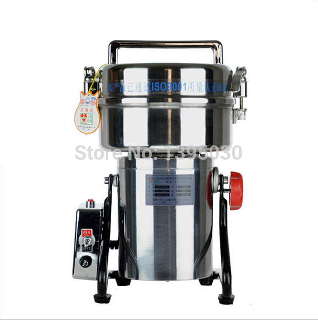 1 StÜck 800g Schaukel Vollen Edelstahl Grinder Gristmill Kaffee Pfeffer Lebensmittel Schleifmaschine