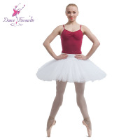 White Practice And Rehearsal Professional Tutu Hot Selling Half Tutu Free Shipping
