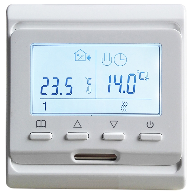 MINCO HEAT 220V 16A LCD Programmable Warm Floor Controller Electric Digital Floor Heating Room Air Thermostat