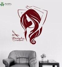 YOYOYU Vinyl Wall Decal Beauty Salon Barbershop Stylist Hairstylist Interior Art Removable Decoration Stickers FD407