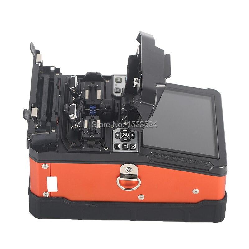 A-81S Orange Entièrement Automatique Fusion Splicer Machine Fiber Optique Fusion Splicer Fiber Optique Épissage Machine - 3