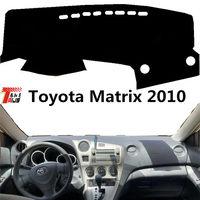 TAIJS auto dashboard abdeckung für Toyota Matrix 2010 polyester faser links hand stick Auto dash board schützen matte für Toyota matrix-in Anti-Rutsch-Matte aus Kraftfahrzeuge und Motorräder bei