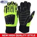 2017 New NMSafety Anti Vibration Safety Glove Vibration and Shock Resistant Glove Anti Impact Mechanics Work Glove