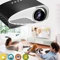 2016 New Arrival GP8S Mini Home Cinema Theater  HD Multimedia PC USB LED Projector AV TV VGA HDMI High performance