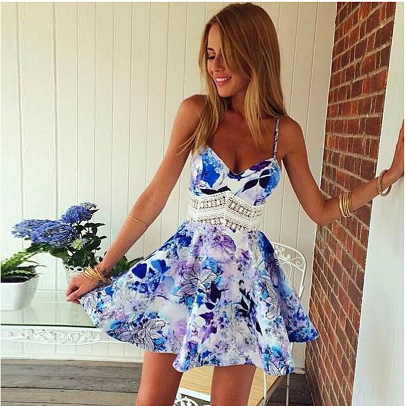 Compare Prices on Flower Patterned Dresses- Online Shopping/Buy ...