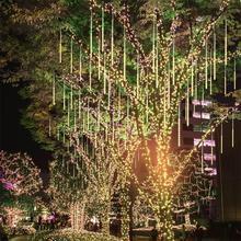 Meteor Shower Rain Led String Lights 30cm