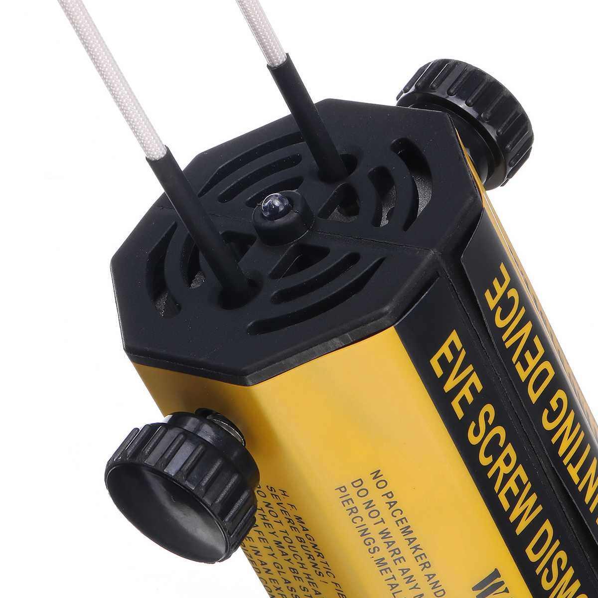 Calentador de inducción 110 V/220 V 8 bobinas kit de herramientas de eliminación de calor sin llama calefactor por inducción magnética herramienta de reparación de desmontaje de coche