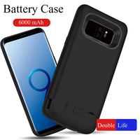 6000 mAh Battery Case For Samsung Galaxy S9 Plus Power Cover For Samsung Galaxy S9 Plus USB Charger Capa Fundas