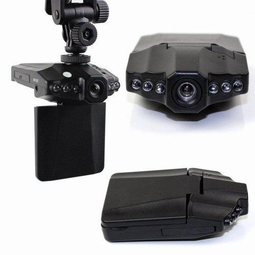 H198 Автомобильный ВИДЕОРЕГИСТРАТОР с 2.5 Дюймов 270 Градусов Повернутого Экрана, 6 ИК-СВЕТОДИОДОВ, HD 720 P Ночного Видения Автомобильный Черный Ящик Камеры Даш Cam