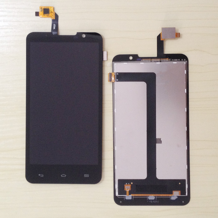 Top Quality NEW Highscreen Alpha R LCD Display Touch Screen Digitizer Assembly Free Shipping tools kit