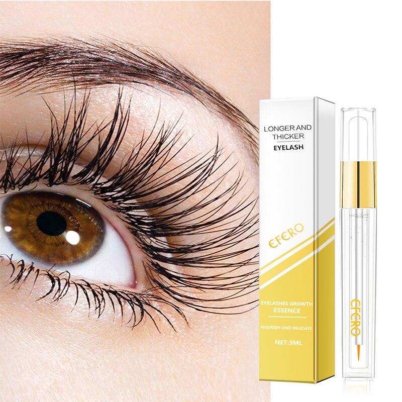 EFERO Eyelash Growth Serum Enhancer Treatments Lash Serum for The Growth Of Eyelashes Curling Eye Lashes Mascara Growth Essence