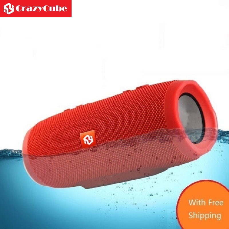 все цены на CrazyCube Charge 3 Portable Bluetooth IPX7 Waterproof Speaker as element t6 xtreme with power bank онлайн