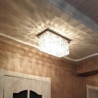 led lamp ceiling modern led ceiling lights hallway ceiling lamp crystal rectangle modern crystal ceiling lamp crystal lustres