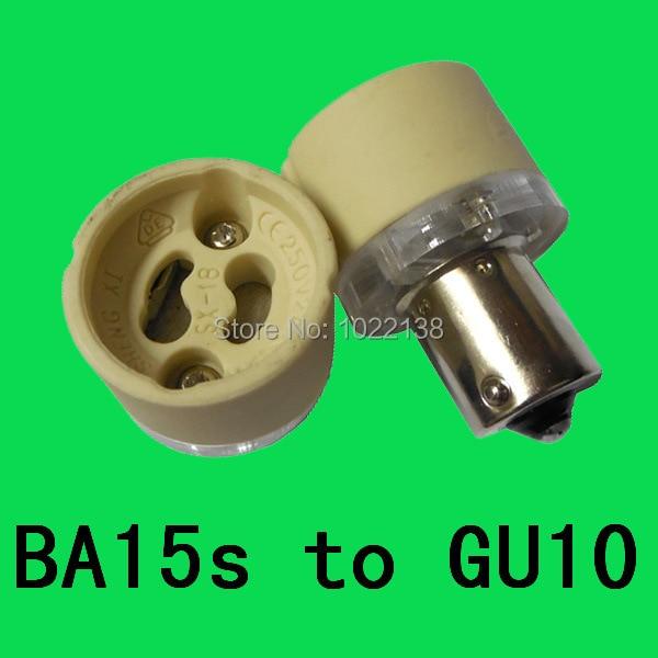 Lights & Lighting 1000pcs 1157 Ba15d To Gu10 Lamp Holder Socket Adapter Converter Ba15d-gu10 Led Light Bulb Base B15 To Gu10 Lamp Plug Free Ship