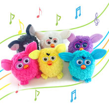 Little Pets Electronic Toys Recording Robotic Phoebe Talking Hamster Interactive Pets Owl Electronic Recording Child Gift Toys(China)