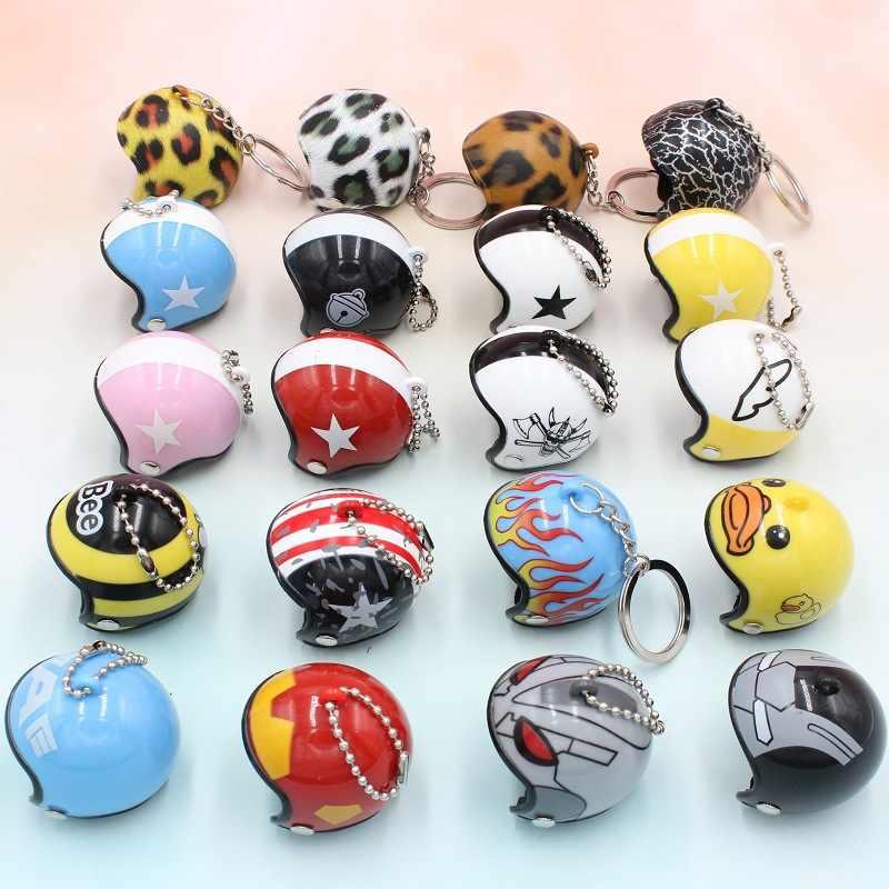 2019 Новые Креативные мотоциклетные защитные шлемы авто брелок супер герой милые Мультяшные сумки брелок игрушки для ключей женский мужской подарок ювелирные изделия