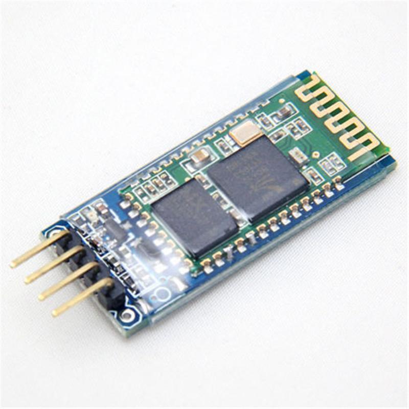 Беспроводной Серийный 4 Булавки <font><b>Bluetooth</b></font> Радиотрансивер Модуль HC-06 <font><b>RS232</b></font> с объединительной платы