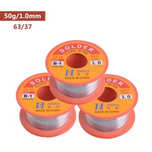 0.3/0.4/0.6/0.8/1/1.2/1.5/2MM 63/37 60/40 Tin Lead Tin Wire Melt Rosin Core Solder Soldering Wire Roll