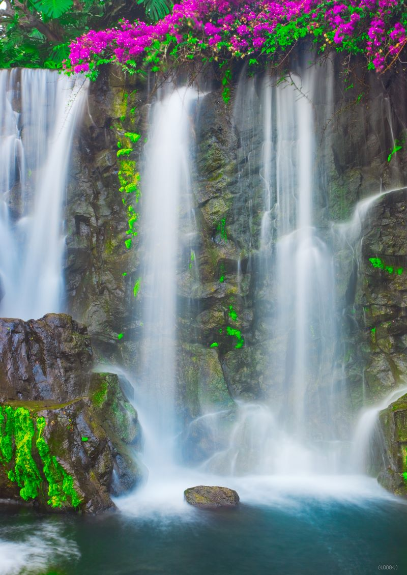 Vinyl New 3x5ft 1x1 5m Waterfall Outdoors Photo Background Hot
