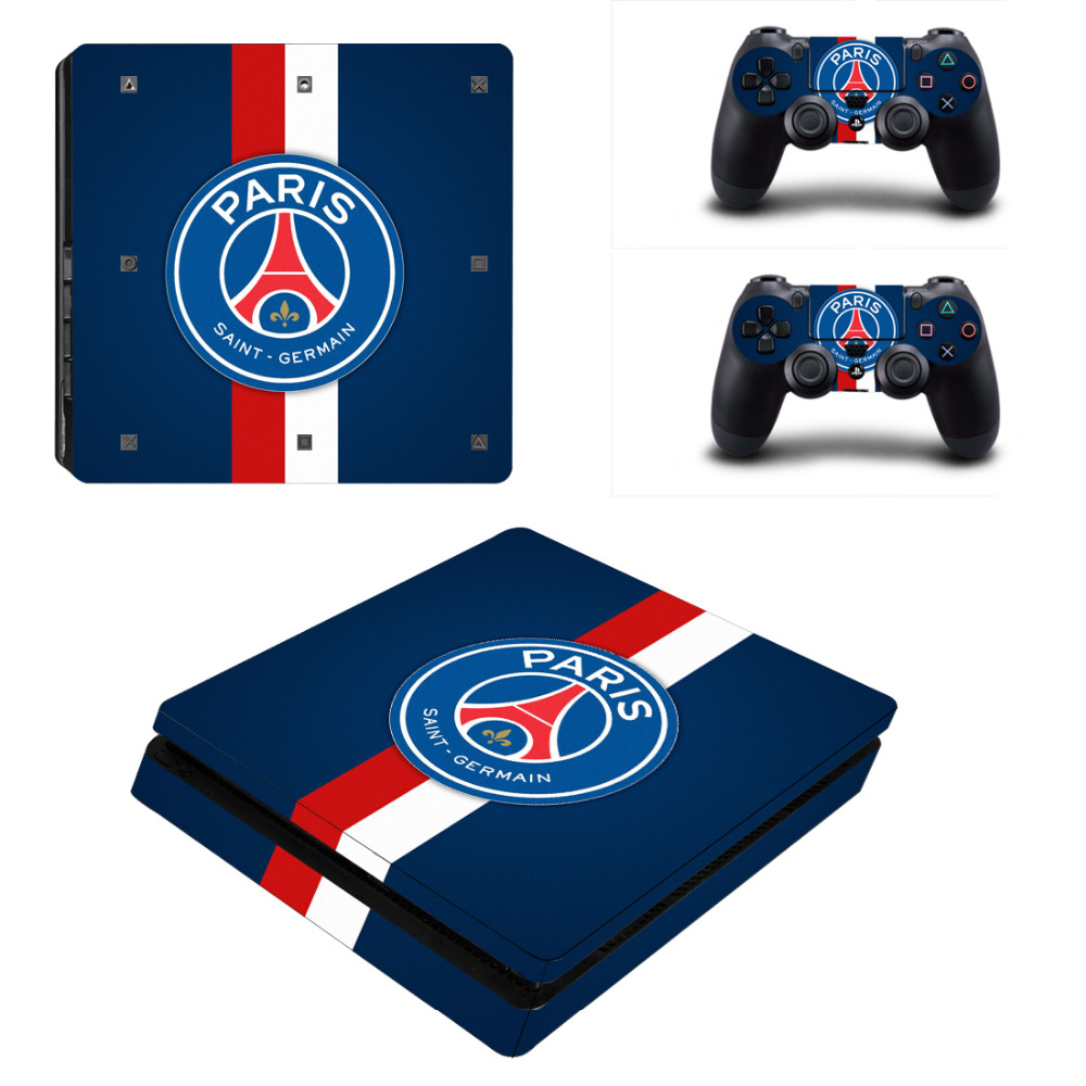 Football team sticker for ps4 slim console skin sticker for Housse manette ps4