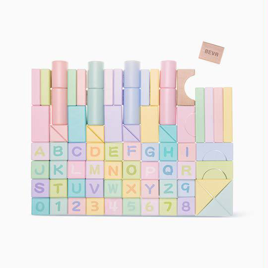 Education Original Home 80PCS Wooden Building Blocks Baby Development Toy Colorful Block Toys For Childern Kids Construction 50pcs hot sale wooden intelligence stick education wooden toys building blocks montessori mathematical gift baby toys