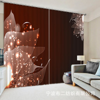 Luxury Gorgeous Geometric Patterns 3D Blackout Window Curtains For Bedding Room Living Room Hotel Drapes Cortinas