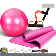 Yoga Mat Package Spree Beginner Thicken with Position Line Non Slip Carpet For Environmental Fitness Gymna