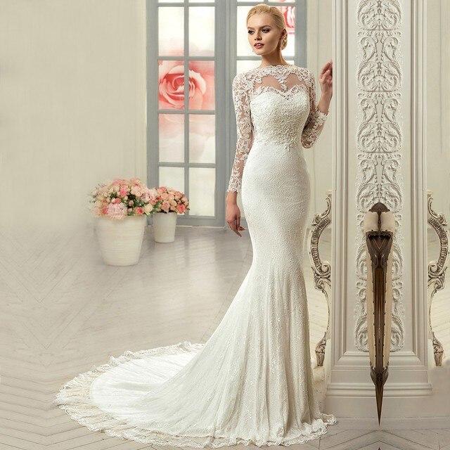 Brautkleider Vintage Langarm Beliebte Hochzeitstraditionen 2018