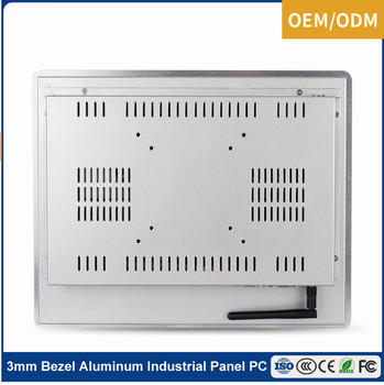 12 inch industrial panel pc computer Intel Bay Trail J1900 2GHz DC 12-24V