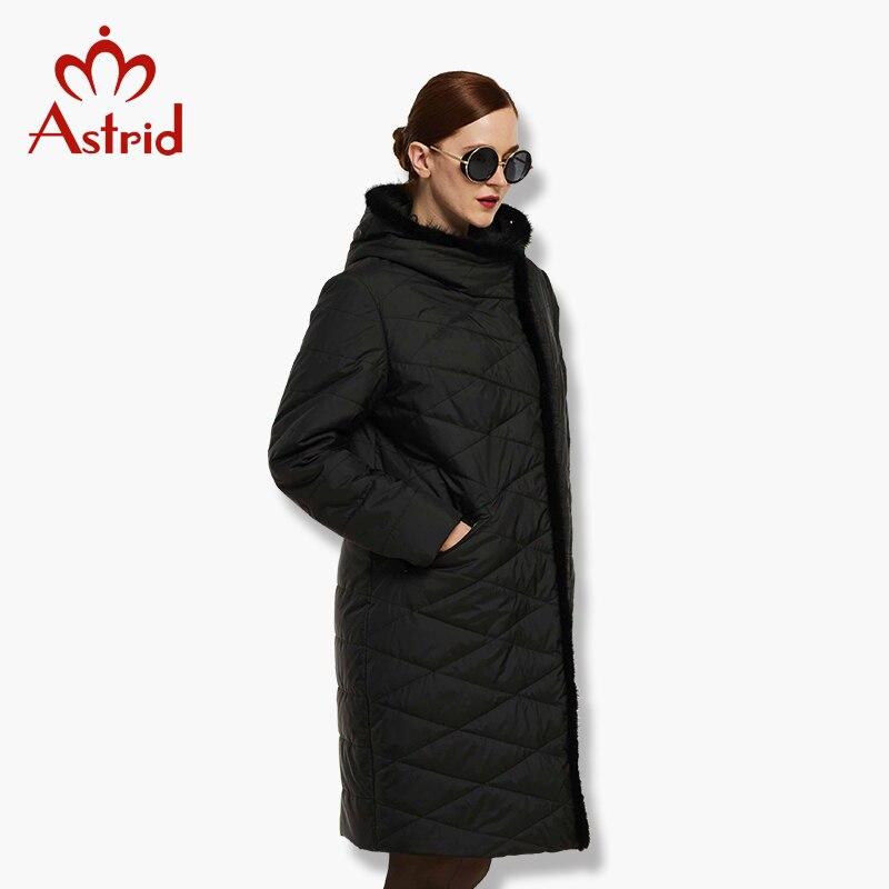 Astrid Women's Jacket Winter Coat Warm down jacket Women's large   Parkas   New Winter Cotton Outwear AM-1849