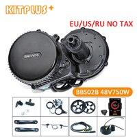 Bafang 8Fun BBS02 48V750W Ebike Mid Motor Ebike Kit Brushless Electric Motor Bike Kit for E Bike Conversion Bafang 750 Watt