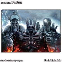 Pano Cópia da arte Do Cartaz para WG042 The Witcher 3 Caça Selvagem Jogo Da Arte 48×35 cm