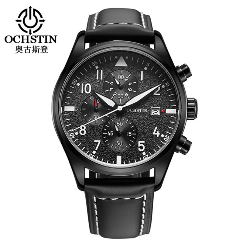OCHSTIN new Watch Men Chronograph Date Luminous Quartz-Watch Mens Watches Top Brand Luxury Sport Wristwatch relogio masculino new forcummins insite date unlock proramm
