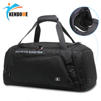 New Stylish Oxford Men Sports Training Gym Bag Multi function Backpack Fitness Shoulder Bags With Shoes Storage Travel Handbag