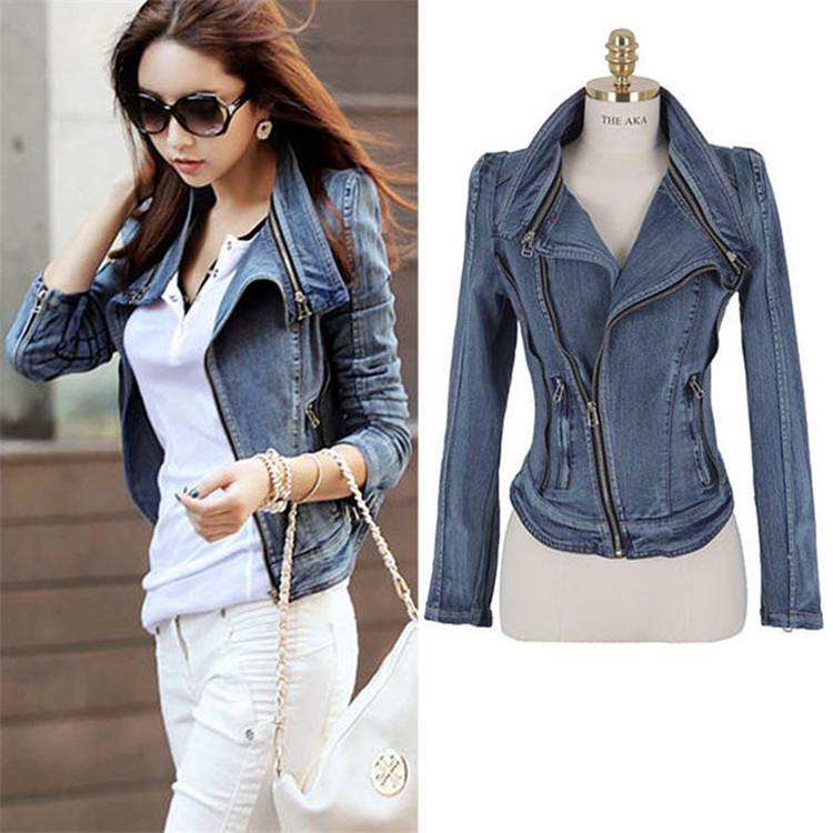 Aliexpress.com : Buy Womens Denim Jacket New 2017 Fashion Women ...