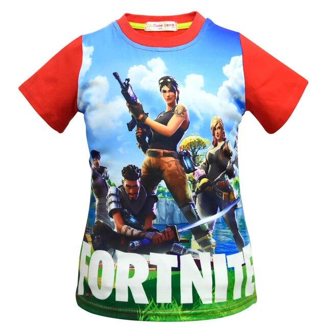 Boys Tops Summer 2018 Brand Children T shirts Boys Clothes Kids Tee Shirt Fille 100% Cotton Ninja Print Baby Boy Clothing 4