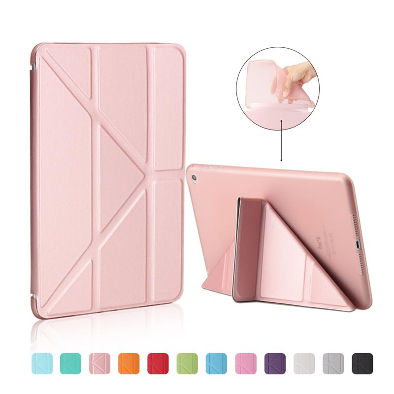 XSKEMP Original Brand Tablet Case For Apple iPad mini 4 7.9 Smart Case Cover Funda Tablet Protective Shell With Free Stylus Pen