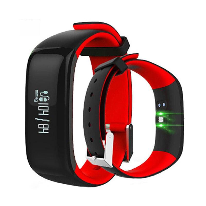 Orologi pedometro Monitor di Pressione Sanguigna di Fitness Orologio Bracciale Fitness Banda Intelligente Smartband Pulsometro Braccialetto Intelligente Per xiomi